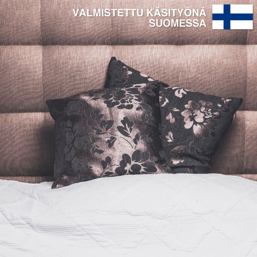 Untuvaa Brown Loiste - decorative pillow case
