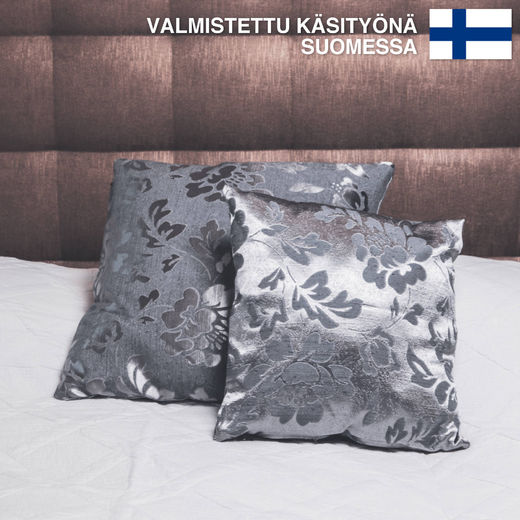 Untuvaa Gray Loiste - decorative pillow case