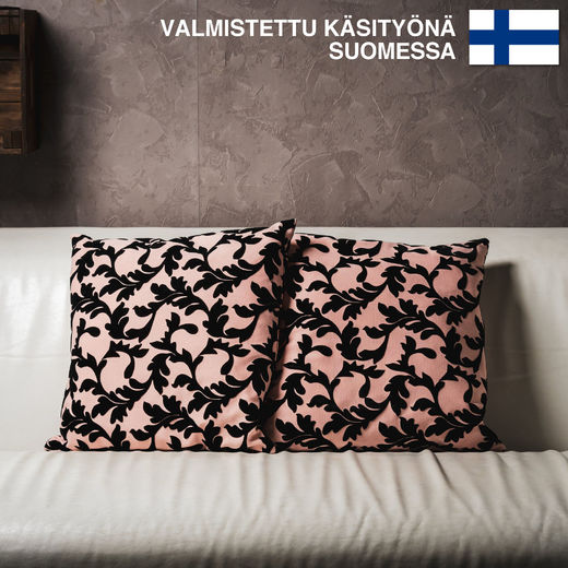 Untuvaa Vaaleanpunainen Köynnös- decorative pillow case